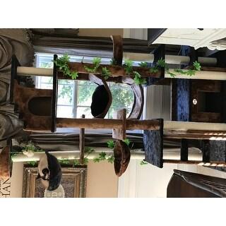 Shop Go Pet Club 77 Inch High Brown Black Huge Cat Tree