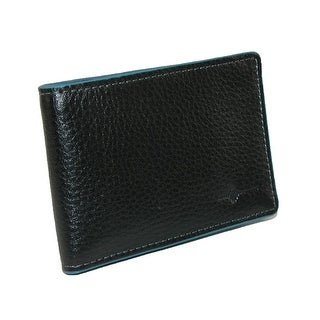 Buxton Men's Leather RFID Front Pocket Slim Bifold Wallet - One size
