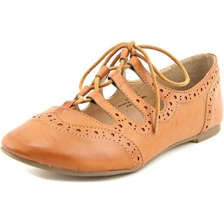Restricted Sammy Round Toe Leather Oxford