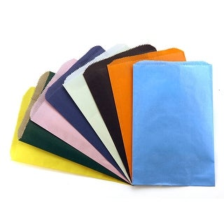 Colorful Paper Bags 6X9 Asstd Color