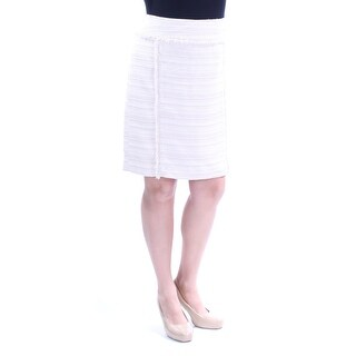 Womens Beige Wear To Work Skirt Size 14