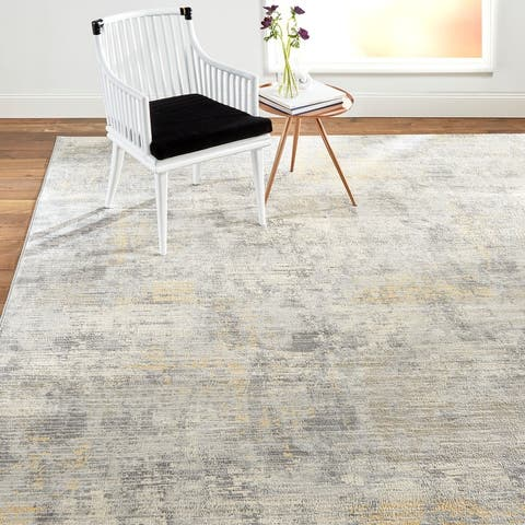 Home Dynamix Melrose Lorenzo Contemporary Abstract Area Rug