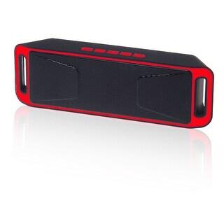 Indigi® HOT GIFT! Ultra-Compact Wireless Bluetooth Stereo Speaker Mega Bass Clear Sound