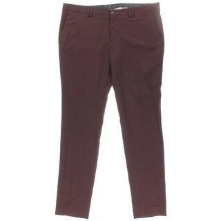 Zara Mens Wool Flat Front Dress Pants - 36