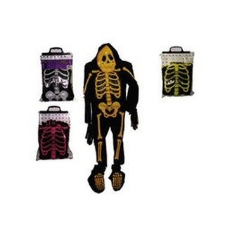 Fun World Skelebones Halloween Party Skeleton Costume - S