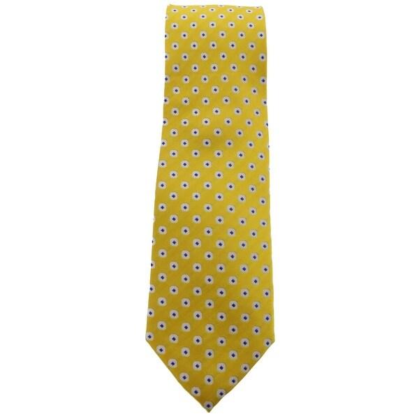 Geoffrey Beene Mens Neck Tie Silk Pattern - o/s