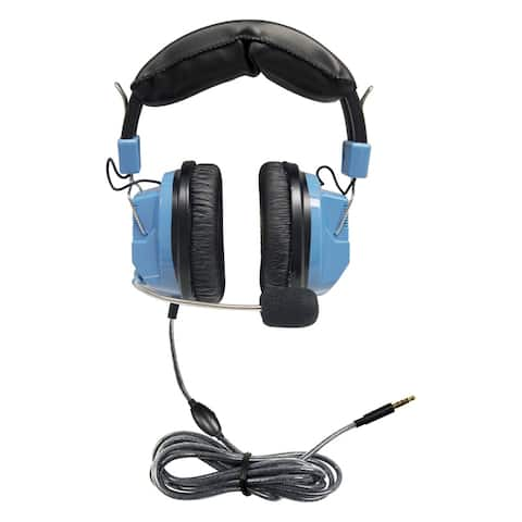 Deluxe Headset with Gooseneck Mic & In-Line Volume Control plus TRRS Plug