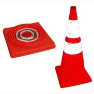 """Jackson 3018159 Pack And Pop Safety Cone, 28"""""""