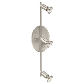 Link to Eglo Buzz 4-Light Matte Nickel Ceiling or Wall Track Light Similar Items in Track Lighting