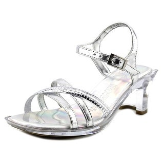 Kenneth Cole Reaction Dan-Cin Shoes MT Youth Open Toe Synthetic Silver Sandals
