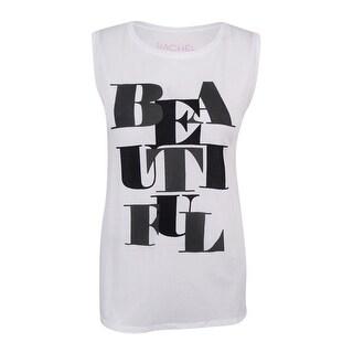 RACHEL Rachel Roy Women's 'Beautiful' Tank Top