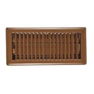Imperial RG0234 Floor Register Brown, 4 x 10