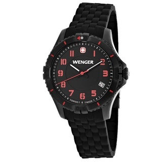 Wenger Women's Squadron 01.0121.105 Black Dial watch