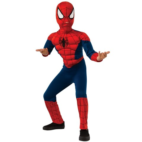 Rubies Deluxe Ultimate Spider-Man Child Costume - Red/Blue