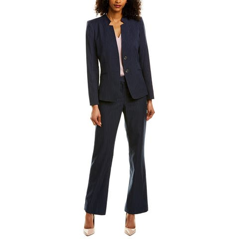 Tahari Asl 2Pc Jacket & Pant Set
