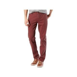 Dockers Mens The Broken In Straight Leg Pants Slim Fit Tapered