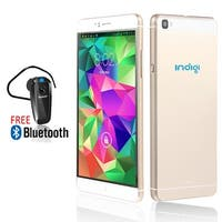 Indigi® 6.0inch Factory Unlocked 3G Smartphone Android 5.1 Lollipop SmartPhone + WiFi + Bluetooth Included - GOLD