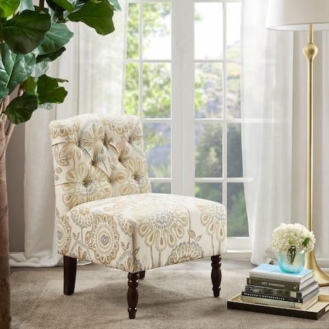 Madison Park Lina Tufted Armless Chair