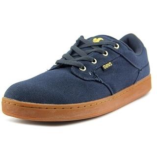 DVS Quentin Men Round Toe Canvas Blue Skate Shoe