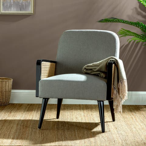 Elva Armchair with rattan