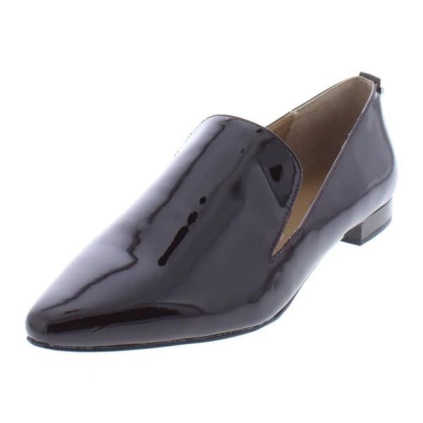 miglior valore più recente negozio online Shop Calvin Klein Womens Elin Smoking Loafers - On Sale - Free ...