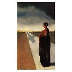 ''The Road'' by Laurie Cooper African American Art Print (30 x 17.75 in.)