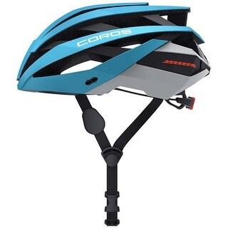 Coros Omni Matte Blue Medium Smart Cycling Helmet