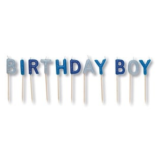 Birthday Boy Pick Candles