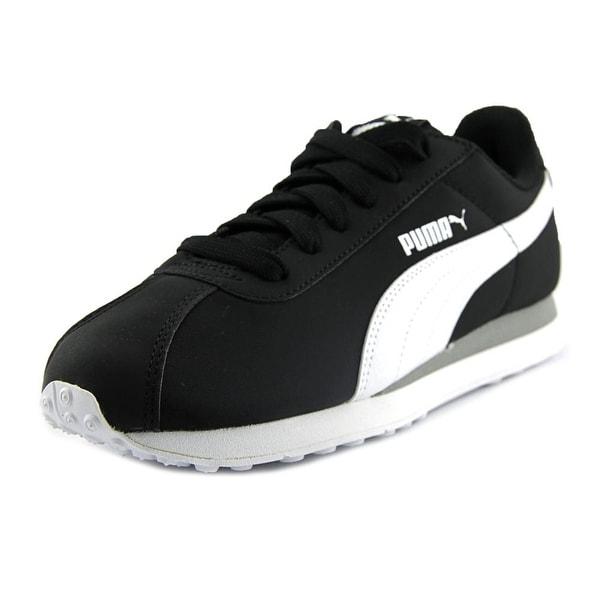 Puma Turin  Men  Round Toe Synthetic Black Running Shoe