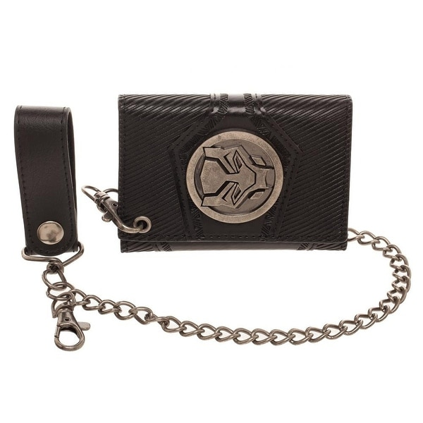 Bioworld Marvel Black Panther Wallet with Detachable Chain - One Size Fits most