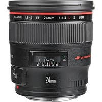 Canon EF 24mm f/1.4L II USM Lens (International Model)