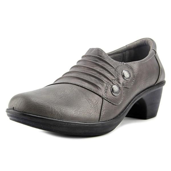 Easy Street Edison Women Grey Flats