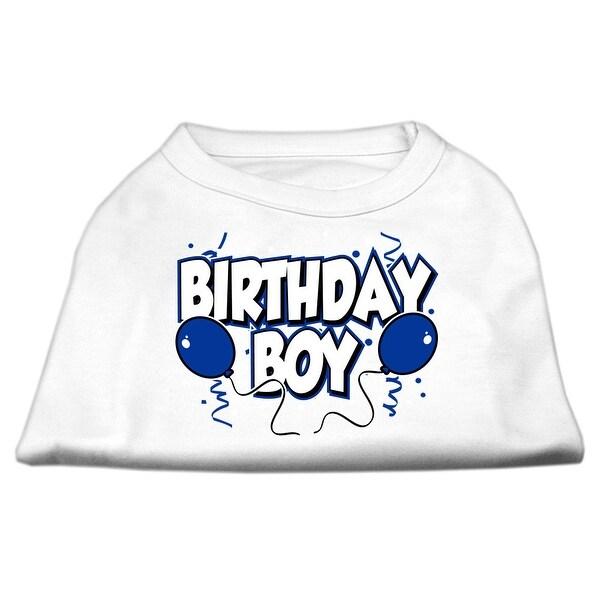 Birthday Boy Screen Print Shirts White Sm 10