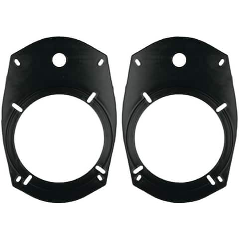 """METRA 82-6901 5.25""""/6.5"""" Universal Speaker Adapter Plates for 6"""" x 9"""" Opening"""