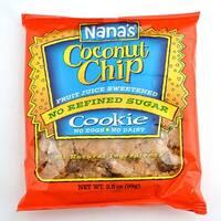 Nana's Cookie Chip - Coconut - Case of 12 - 3.5 oz.