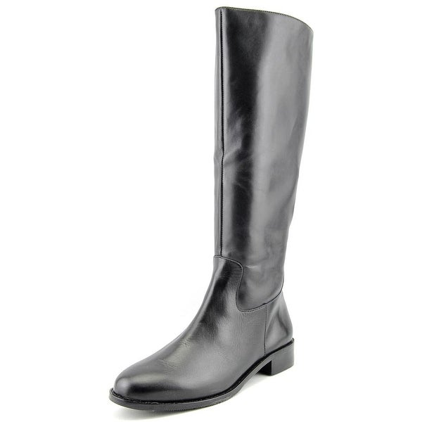 Elites by Walking Cradles Mate Wide Calf Women W Leather Knee High Boot