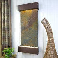 Classic Quarry Nojoqui Falls Wall Fountain Finish Copper Vein