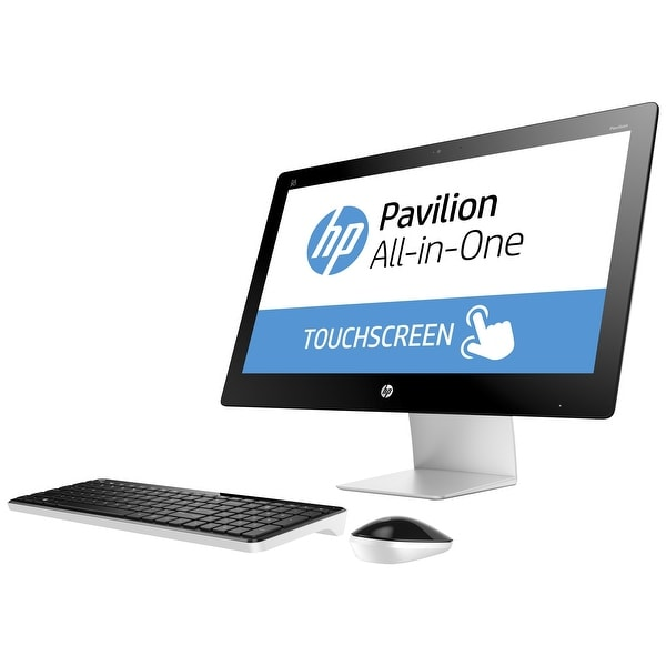 "Manufacturer Refurbished - HP Pavilion 23-q149c 23"" Touch AIO Desktop Intel i5-4590T 3GHz 12GB 1TB W10"