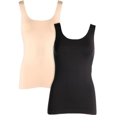 Kenneth Cole New York Womens Tank Top Slimming Seamless