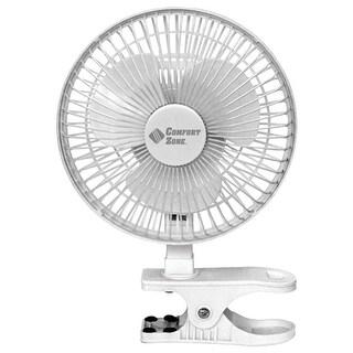 Comfort Zone(R) - Cz6c - Cz 6In Clpon Fan Wht