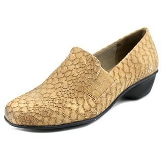 Walking Cradles Teri W Round Toe Leather Loafer