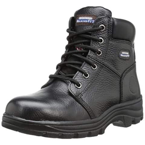 Skechers For Work Women's Workshire Peril Boot, Black