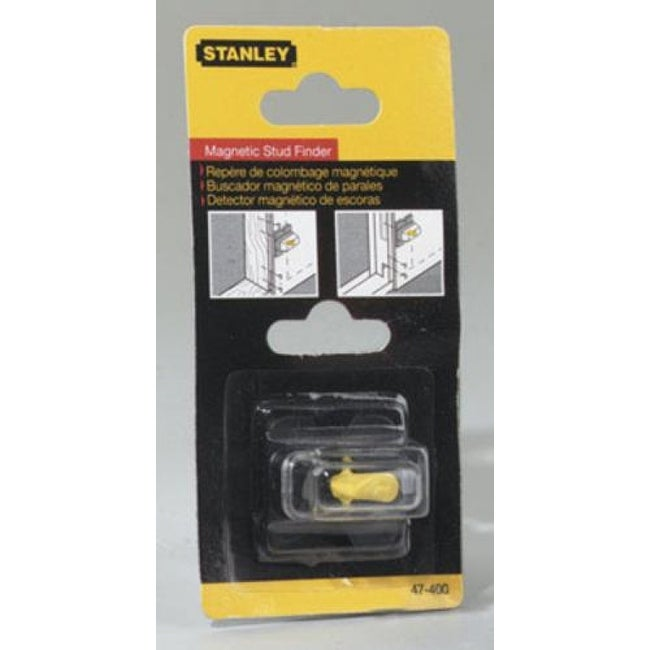 Stanley 47-400 Goldblatt Magnetic Stud Finder, 1-3/8 X 1-3/8 X 1-1/4
