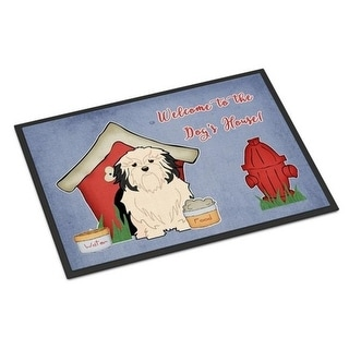 Carolines Treasures BB2773JMAT Dog House Collection Lowchen Indoor or Outdoor Mat 24 x 0.25 x 36 in.