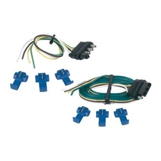 """Hopkins 48205 4-Wire Trailer Connector Kit, 12 """"/48 """"/60 """""""