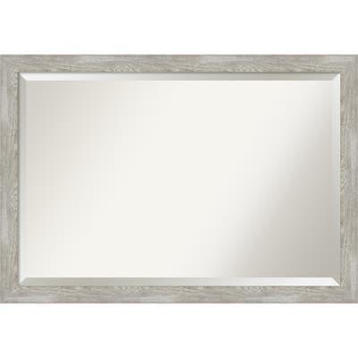 The Gray Barn Greywash Narrow Bathroom Vanity Wall Mirror