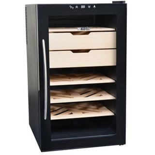 NewAir CC-280E 400 Count Cigar Cooler - Black