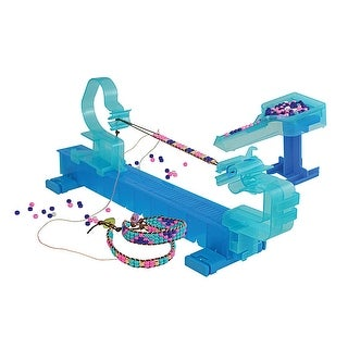 Wrapit Beading Loom Craft Kit, Includes Beads, Nylon Cord & Instructions, Makes up to Five Bracelets