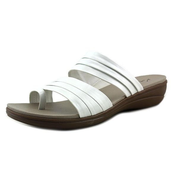Kim Rogers Cammie Open Toe Synthetic Slides Sandal