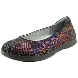 Alegria Petal Women Round Toe Leather Multi Color Flats